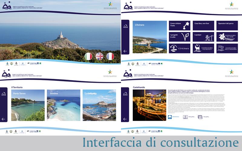 Estratto dell'interfaccia di consultazione